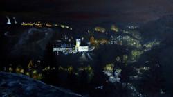 Lauscha bei Nacht (40x60) Acryl auf LW