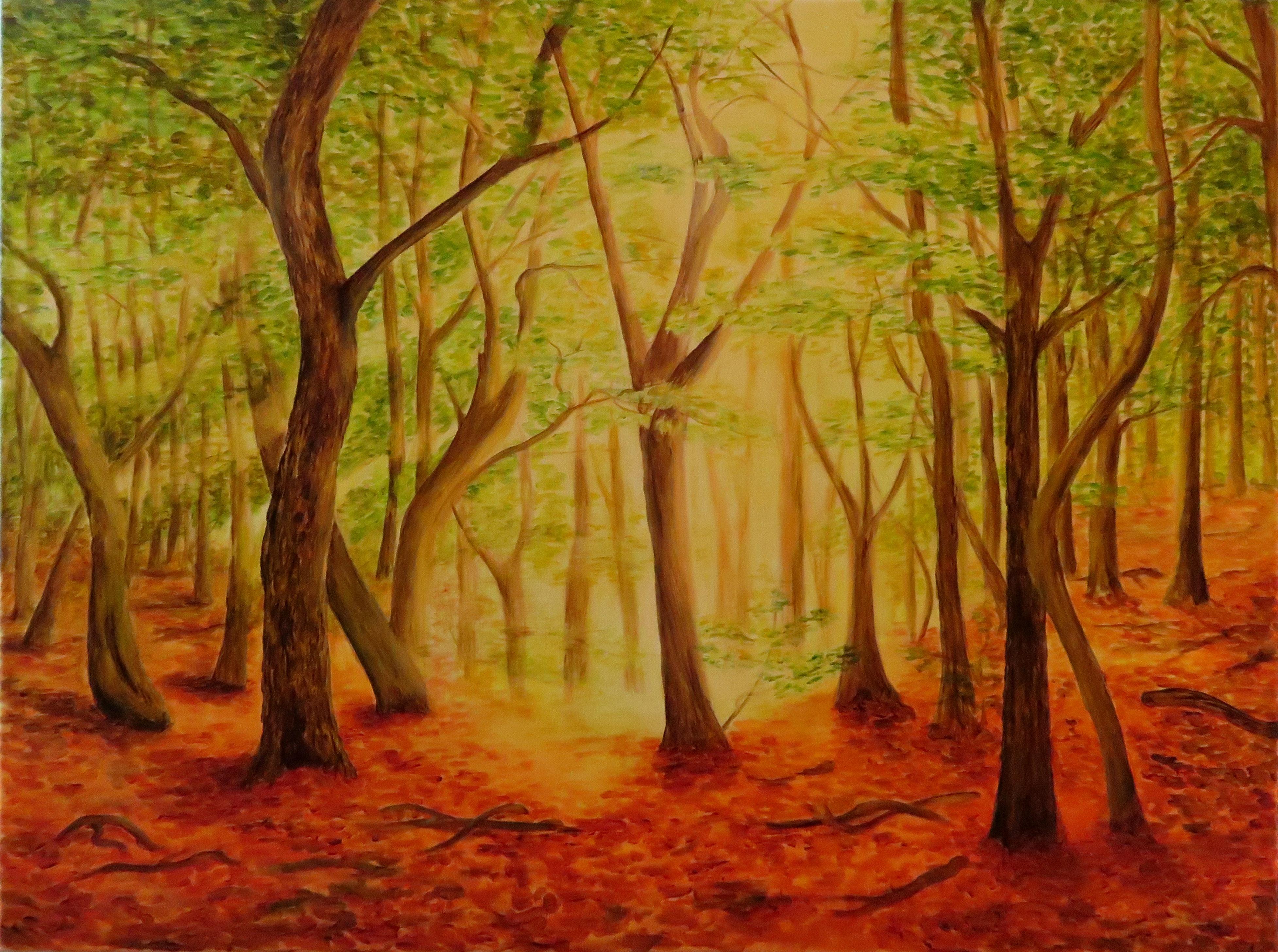 Sommerwald (60x80)