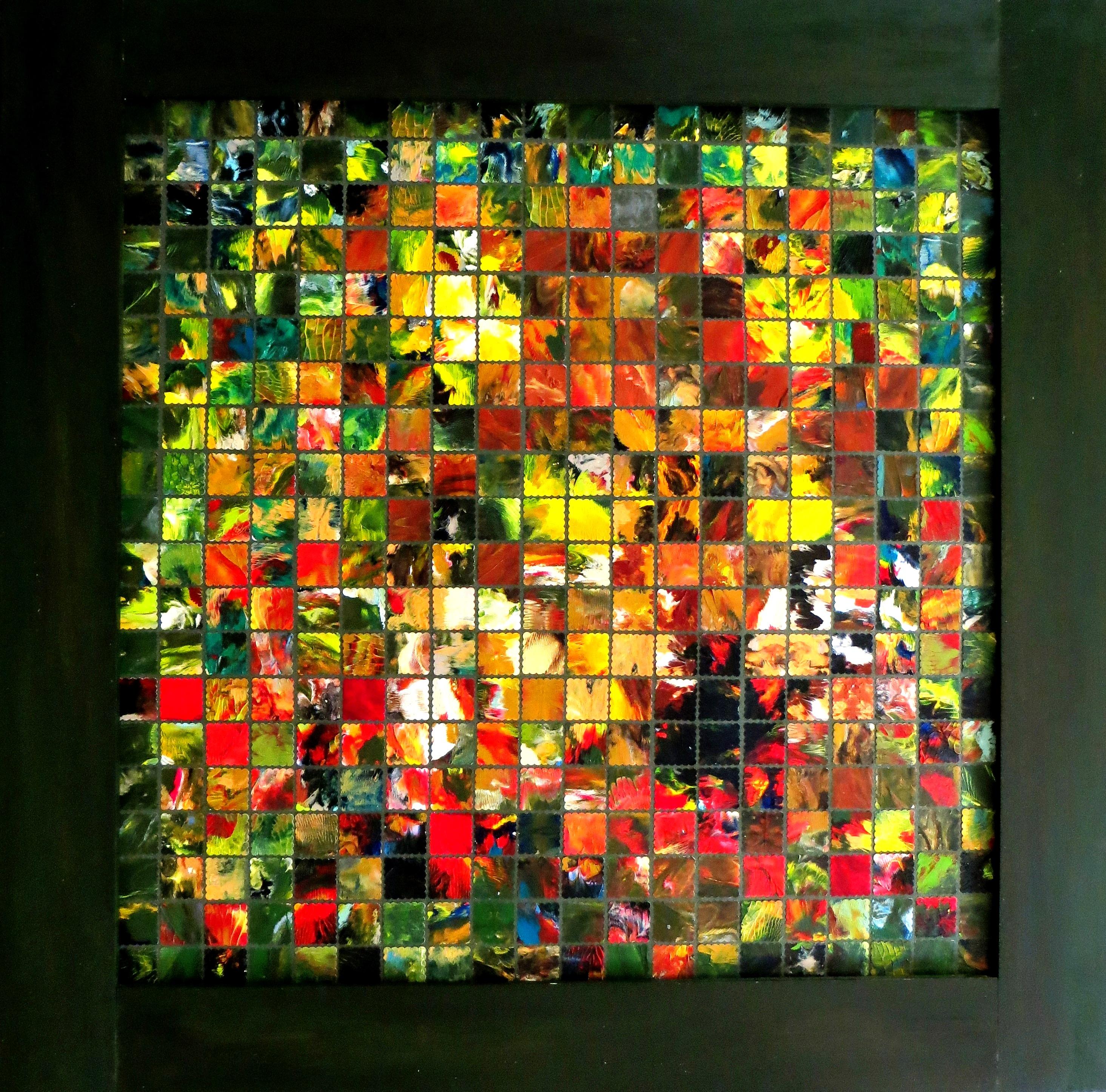 Wolf (78x78) Art in Art