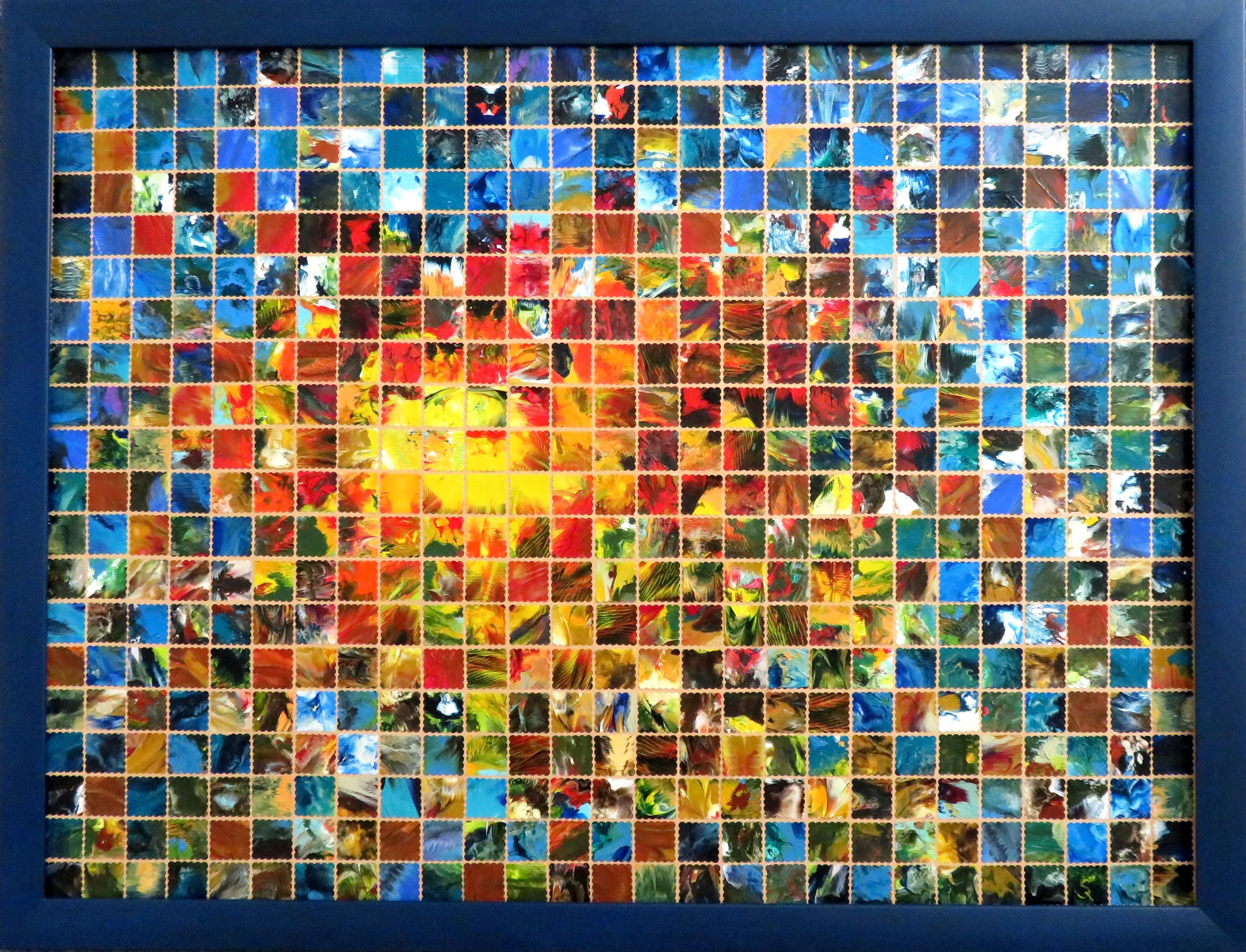 Die Sonne geht auf (67x87) Art in Art