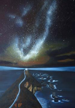 Milkyway am Nugget Point(70x50)