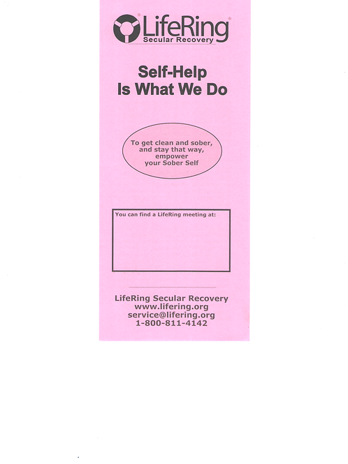 Self-Help Is What We Do - Pack of 50 brochures