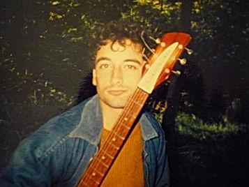 Paul Day on holiday neay Sevenoaks Kent 1987