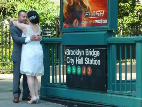 Bride And Groom New York City