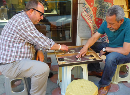 Backgammon Men Istanbul