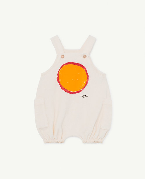 White Boar Baby Dungaree
