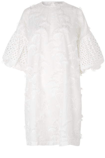 THUNDER DRESS, WHITE