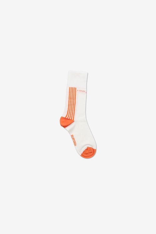 Laurel Socks Orange
