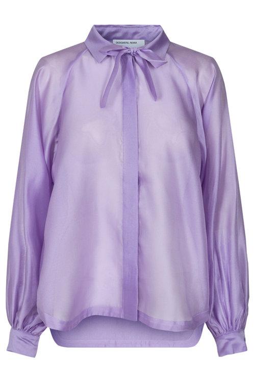 Enola Sleeve Shirt-Lilac