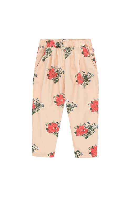"""FLOWERS"" PLEATED PANT"