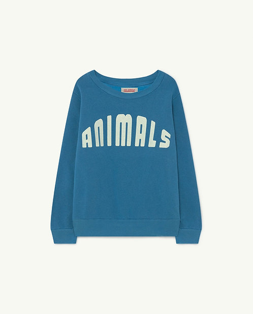 Bear Kids Sweatshirt- Blue animals