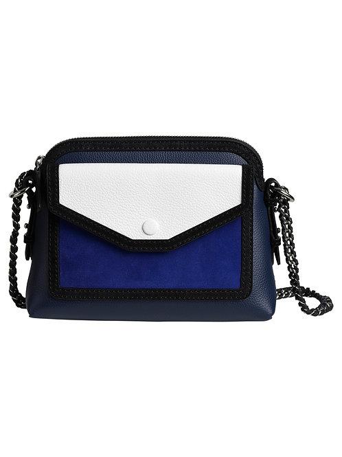 Tess mini bag blue