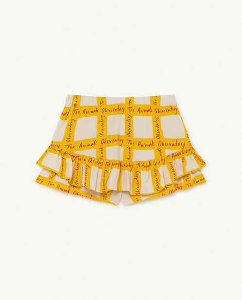 Kiwi Kids Skirt White Squares