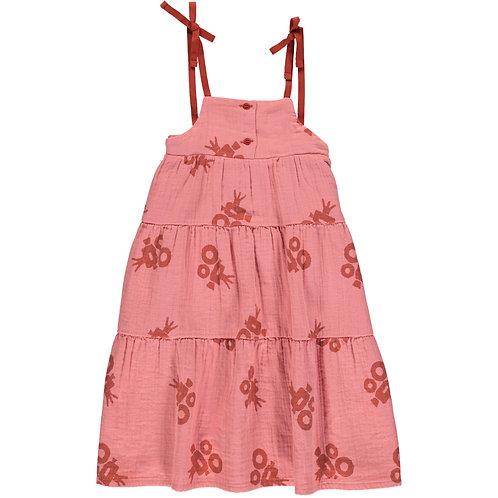 Long Flowing Dress-Pink