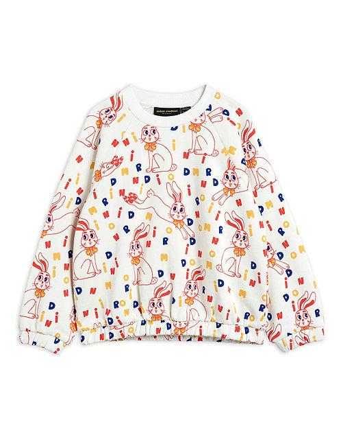 MR rabbit aop sweatshirt
