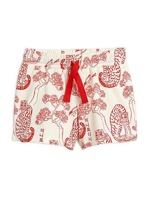 Tiger aop shorts