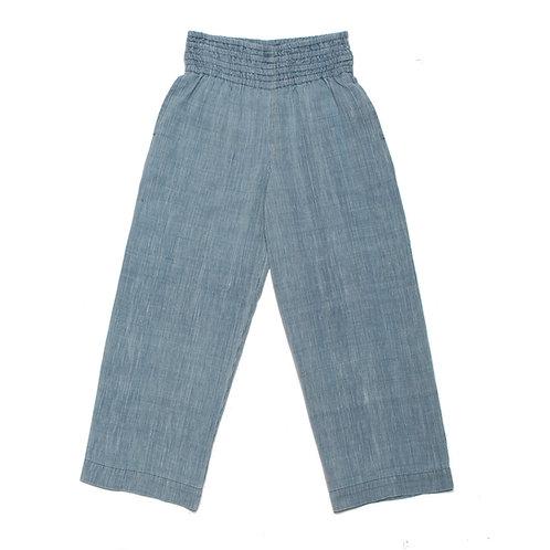 Ubiquity Pant - Bleached Indigo Stripe