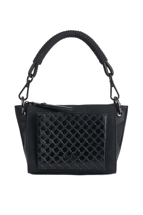 CROSSBODY ALBERTINE, KUFIYA BLACK