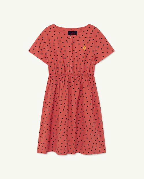 Red Dots Dolphin Dress