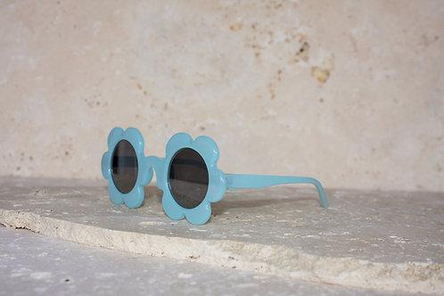 Daisies Blue Sunglasses