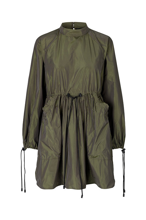 Nikita Dress - Seaweed Green