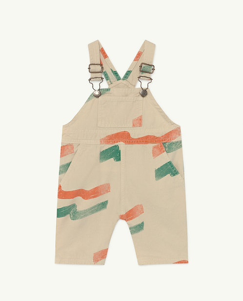 Baby White Flag Mule Suit