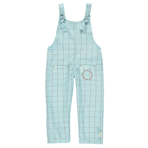 Dungarees Light Blue Checkered