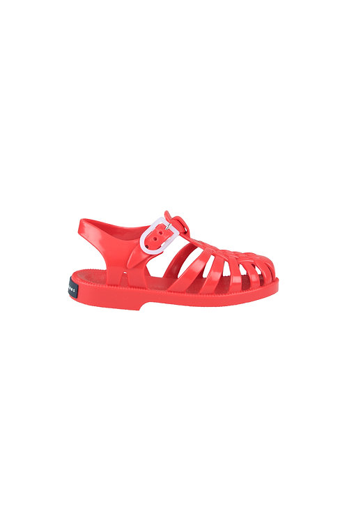 JELLY SANDALS RED