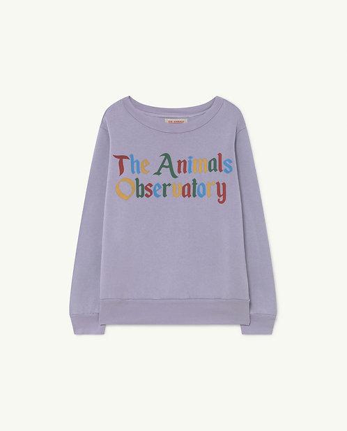 Bear Kids Sweatshirt- Soft Purple