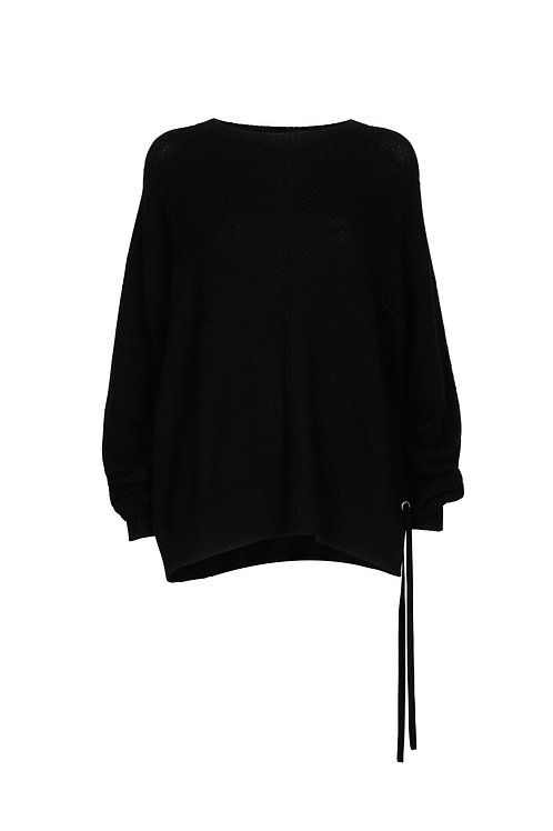 JUMPER KASPER, BLACK