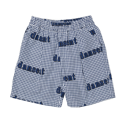 Savannah Short BLUE GINGHAM