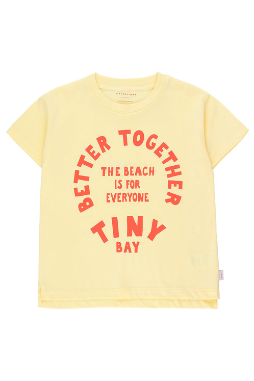 BETTER TOGETHER GRAPHIC TEE lemonade/red