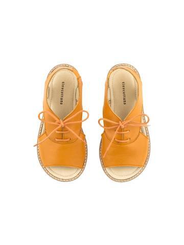 Brick Crepe Lace Sandals