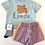 Thumbnail: Rooster Kids Tshirt Blue Lindo