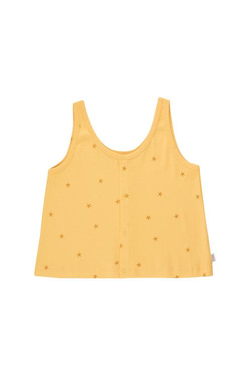 Starfish Tank Top-Yellow/Honey