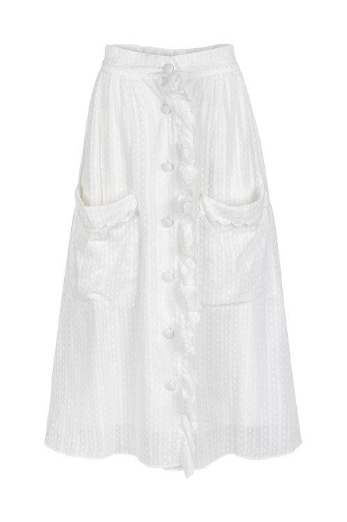 Aurelie White skirt