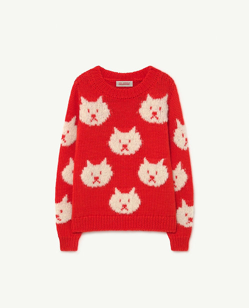 Arty bull Kids Sweater red
