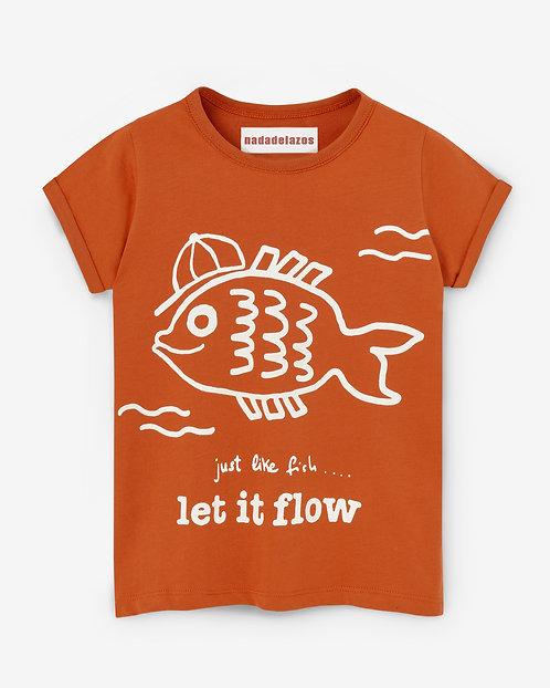 Tshirt-Let it Flow