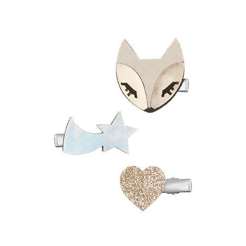 Arctic fox clip pack