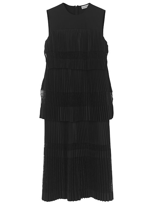 Tuella pleated dress