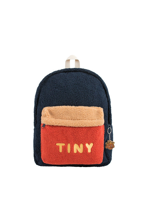 """TINY"" BIG COLOR BLOCK BACKPACK"