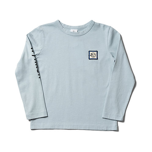 Long Sleeve Wynken Tee - Soft Blue