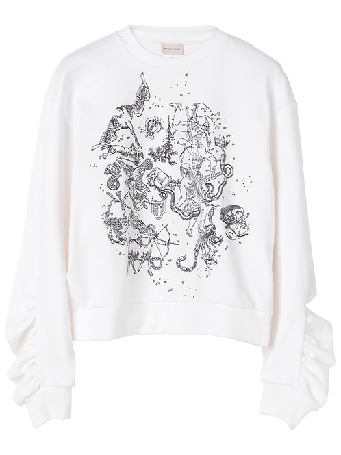 Arrosa cropped sweatshirt