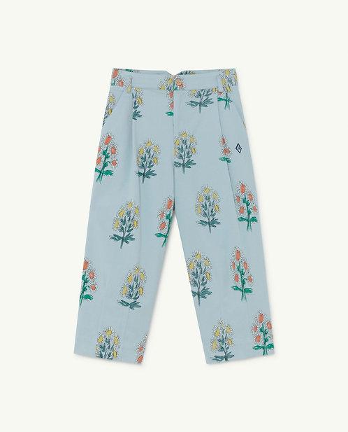 Emu Kids Trousers Blue Flowers