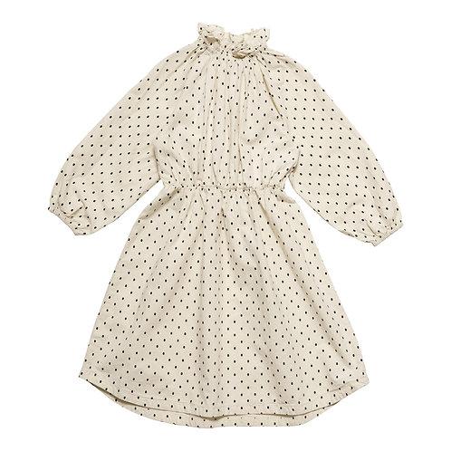 Trouve Dress - Mirror Dot Oatmeal