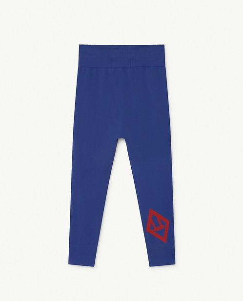 Blue Alligator Slouch Bottoms