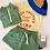 Thumbnail: DOGGY PADDLE SHORT green/iris blue