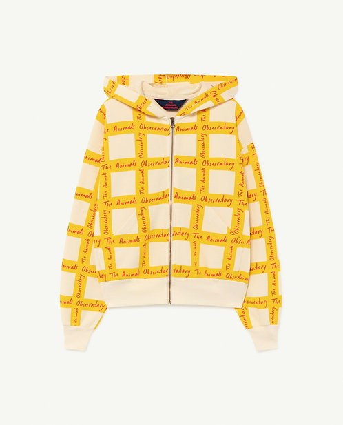 White Squares Seahorse Sweatshirt