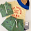 Thumbnail: DOGGY PADDLE MOCKNECK SWEATSHIRT green/iris blue
