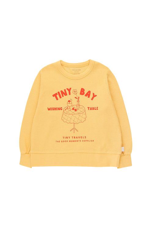 Wishing Table Sweatshirt- Yellow/Red
